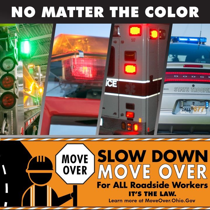 Slow Down. Move Over. It's the Law.